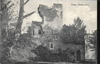 image of Visborg Castle Ruins in Visby, Sweden - 1910s Monochrome Postcard