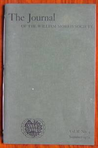 The Journal of the William Morris Society Volume II Number 4 Summer 1970