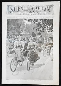 image of Scientific American Supplement -- No. 1026, Aug. 31, 1895 [lady cyclists in Battersea Park, London]