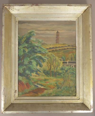 1939. Onchi Kōshirō 恩地孝四郎. . . . Image size approx 41 x 32cm and frame size approx 54.5 ...