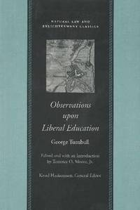 Observations upon Liberal Education