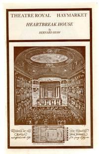 Heartbreak House -Theatre Royal Programme 1983