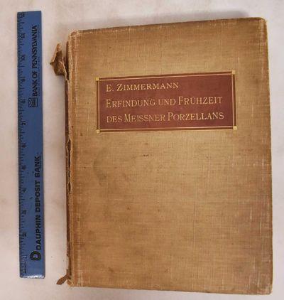 Berlin: G. Reimer, 1908. Hardcover. G/Poor, covers show heavy wear, soiling, spine facing is peeling...