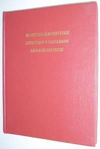 McIntosh-Mackintosh: American & Canadian Lineage Records - Volume VII