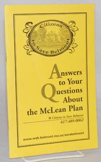 Answers to Your Questions About the McLean Plan Vote July 20th 2 p.m. to 9 p.m. See list of polling places on page 32