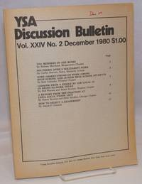 YSA Discussion Bulletin, Volume 24, No. 2, December 1980