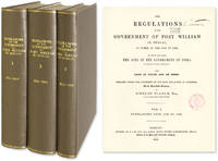 The Regulations of the Government of Fort William in Bengal. 3 vols by  Comp  Richard  - 1854  - from The Lawbook Exchange Ltd (SKU: 51139)