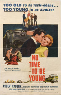 image of No Time to Be Young (Original poster from the 1957 film)