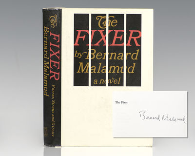 New York: Farrar, Straus and Giroux, 1966. First edition of the author's fourth novel, which went on...
