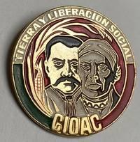 image of Tierra y Liberacion Social / CIOAC [pinback button]