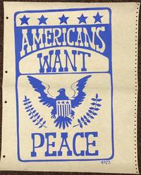 Americans want peace [poster]