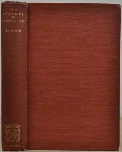 Cambridge: Cambridge at the University Press, 1927. Book. Very good+ condition. Hardcover. First Edi...