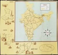 India Tourist Map.