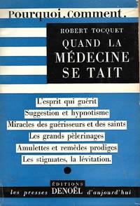 Quand la médecine se tait