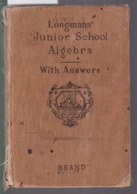 image of Longman's Junior School Algebra