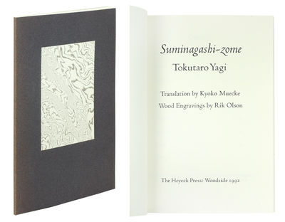 8vo. Woodside, CA: The Heyeck Press, 1992. 8vo, 45 pp. Designed, hand-set printed and marbled by Rob...