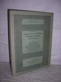 Catalogue of Impressionist and Modern Paintings, Drawings and Sculpture by Sotheby and Co - 1963