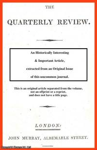 M. Beaumont on the Americans; M. Lieber's Stranger in America. A rare original article from...