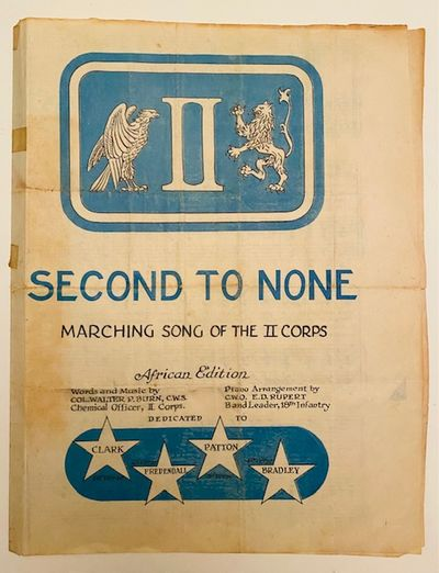 Second to None: Marching Song of the...
