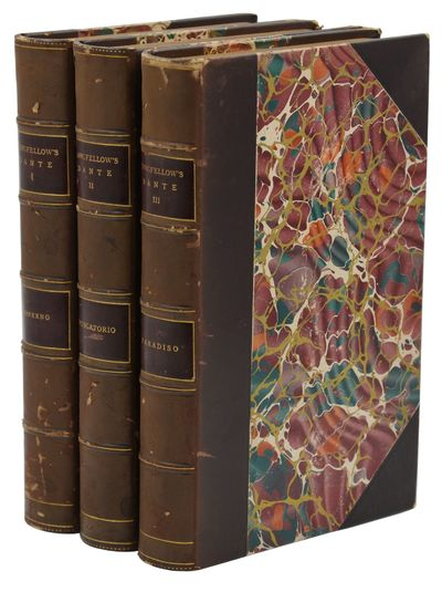 Boston and New York: Houghton, Mifflin and Company, 1892. Reprint. Near Fine. Three volumes bound in...