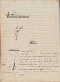 [19TH CENTURY NATURAL PHILOSOPHY] Bound volume of manuscript Natural Philosophy (i.e. Physical Science) lecture notes and drawings probably kept by a student at Kansas State Agricultural College (now Kansas State University)