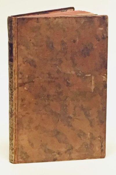 Amsterdam et Paris: chez Durand & Pissot, 1749. Octavo (16.5 x 10 cm.), f., 203 pages. ~ FIRST EDITI...