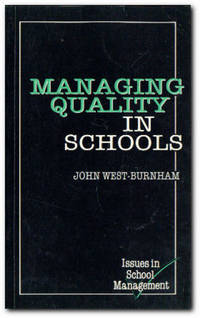 Managing Quality In Schools A TQM Approach