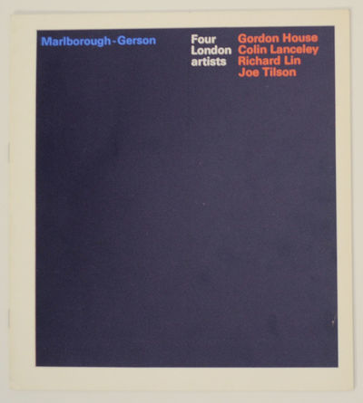 New York: Marlborough-Gerson Gallery, 1968. First edition. Softcover. 10 pages. Exhibition catalog f...
