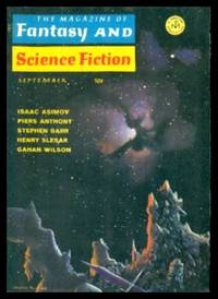 image of THE MAGAZINE OF FANTASY AND SCIENCE FICTION - Volume 35, number 3 - September 1968