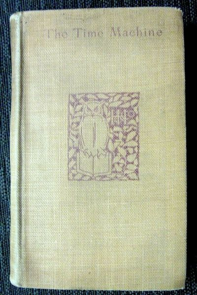 THE TIME MACHINE, Holt, 1895, first edition (first issue with the authors name misspelled as H.S. We...