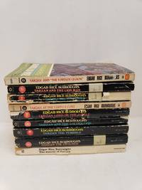 Lot of 9 Tarzan Series Books by Edgar Rice Burroughs 2,7,8,9,11,13,14,17,22 by Edgar Rice Burroughs - Paperback - from Renee Scriver and Biblio.com