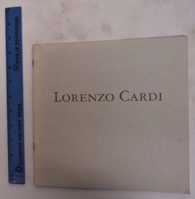 New York: Jason McCoy Inc, 1996. Paperback. VG. Light gray stapled wraps with dark gray lettering. 1...