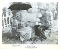image of Night of the Hunter (Original photograph of Charles Laughton and Lillian Gish on the set of the 1955 film)