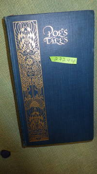 Tales of the Grotesque and Arabesque, with Other Stories by Edgar Allan Poe,POE'S TALES 1903 on Title pg, Early British Edition., Includes Pit & Pendulum,Fall of house of Usher, Black Cat, Gold-Bug,gold bug, by  Illustrated Title page depicting a skull and bearing the initals