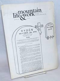 Mountain life & work, the magazine of the Appalachian South, January 1971, vol. 47, no. 1