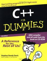 image of C++ For Dummies (For Dummies S.)
