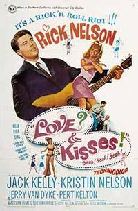 Love and Kisses. Original poster for the Ricky Nelson movie