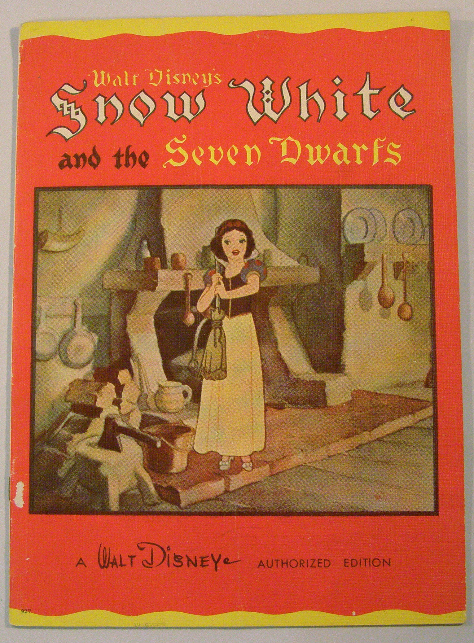 Walt Disney's Snow White and the Seven Dwarfs by Walt ...