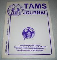 TAMS Journal December 1987, Volume 27, Number 6