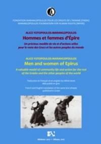 image of Hommes et femmes d'Épire = Men and Women of Epirus
