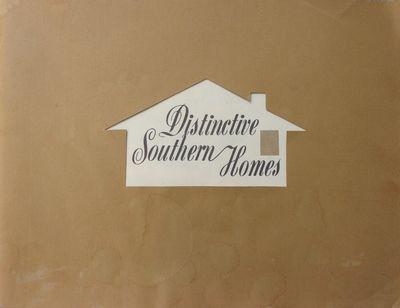 (TRADE CATALOGUE) CHROMASTER, W.W. DISTINCTIVE SOUTHERN HOMES. (Birmingham, Alabama: Oxmoor House, c...