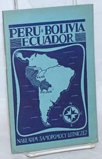 image of Peru, Bolivia, Ecuador: broszura informacyjna
