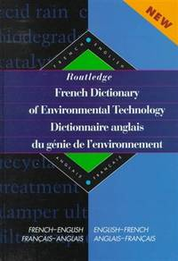 Routledge french technical dictionary dictionnaire technique anglais