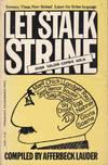 Let Stalk Strine