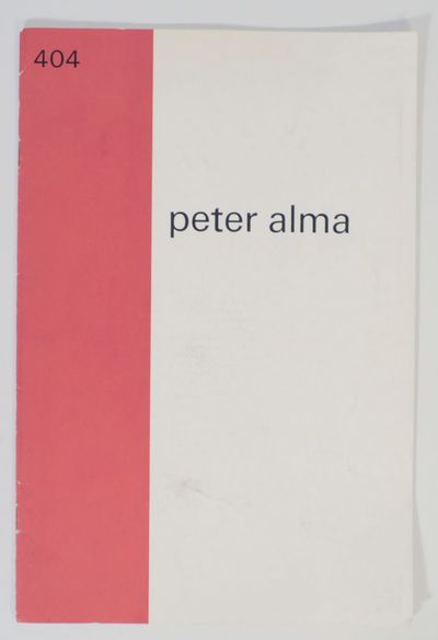 Amsterdam: Stedelijk Museum, 1966. First edition. Softcover. 16 pages. Exhibition catalog for a show...