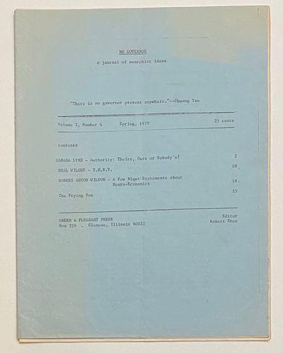 Chicago: Green & Pleasant Press; printed by SRAFprint, 1979. 27p., 8.5x11 inch newsletter, address l...