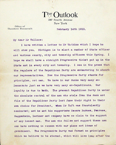 New York: np, 1913. First edition. no binding. Very Good. PASSIONATE AND IMPORTANT LETTER BY THEODOR...