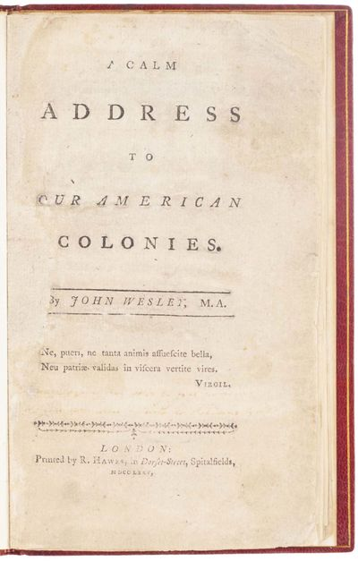 A Calm Address to our American...