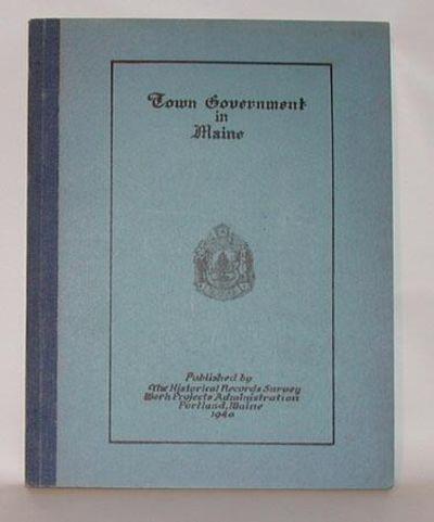 Portland: Maine Historical Records Survey Project, 1940. Preliminary Edition. Near fine in heavy pri...