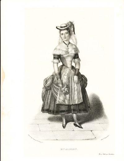 Paris: Marchant, 1841. Mme Albert (dans la Camargo). . 6